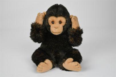 Schimpanse ( mit Magnet an Händen)