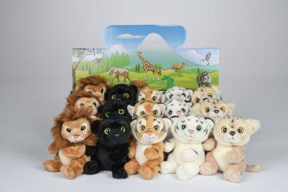 Tiger,Löwe,Panther mit großen Augen