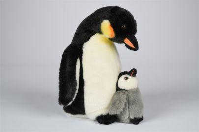 Pinguin mit Baby