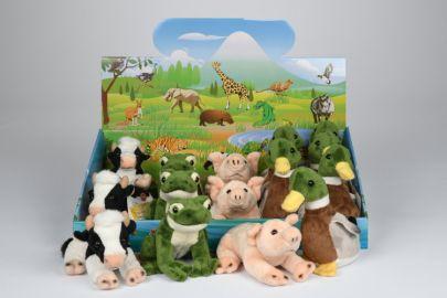 Ente,Schwein,Kuh,Frosch mit Stimme
