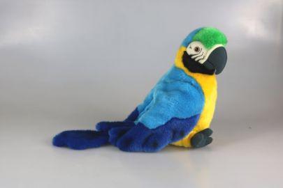Papagei Handpuppe
